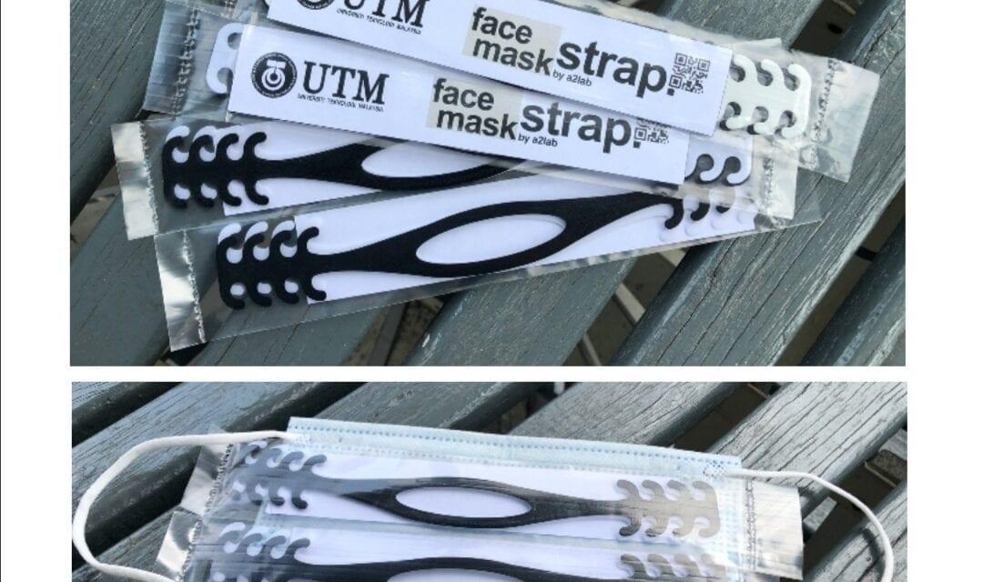A2LAB, CAIRO UTM Inovasikan Strap Memudahkan Pemakaian Topeng Muka