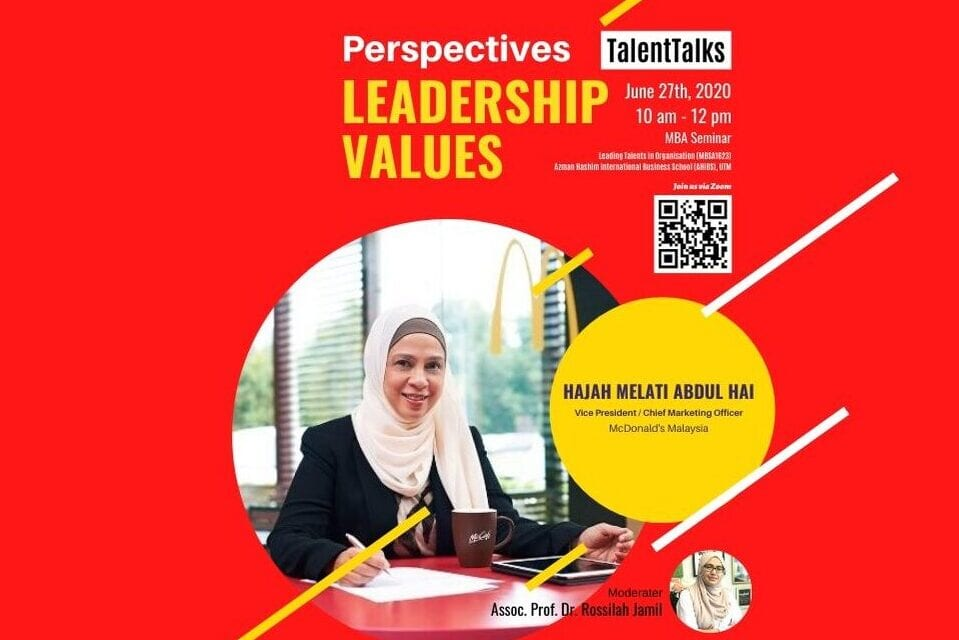 McDonald's Malaysia Shares Perspectives on Leadership Values with AHIBS MBA Students