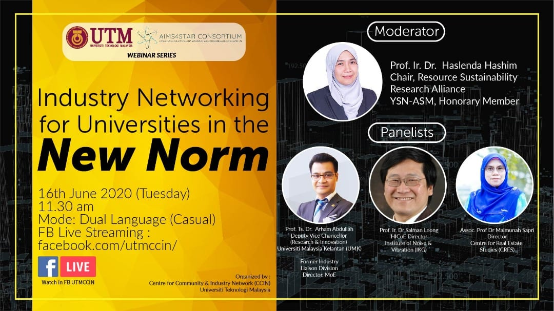 Industry Networking for Universities in the New Norm