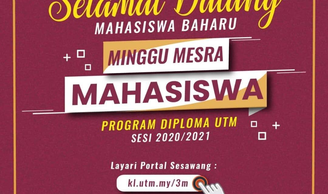 Pendaftaran Pelajar Program Diploma Sesi 2020/2021 Unik Dengan Norma Baharu