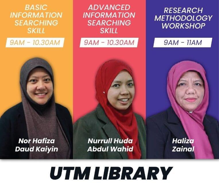 UTM Library User Education Webinar Series for June 2020