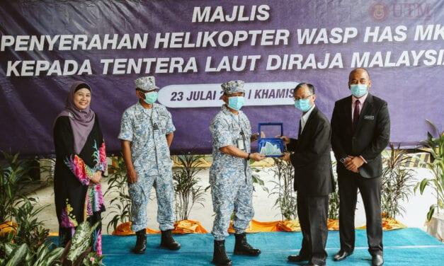 UTM Kuala Lumpur Serah Semula Helikopter kepada TLDM