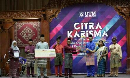 Majlis Citra Karisma UTM 2020 Rai 508 Staf dengan Norma Baharu