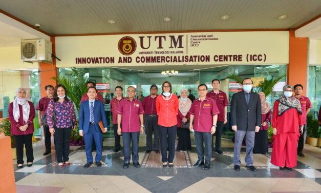 Secretary General of MOSTI Witnesses UTM Technovation Park Contribution Towards Local Innovation Ecosystem