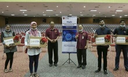Endowmen UTM Bantu Keperluan Komputer Riba 40 Orang Pelajar B40