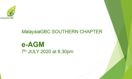 Prof Ts Dr Mohd Hamdan Ahmad Elected as Chairperson for Malaysia Green Building Council (Malaysia GBC) Southern Chapter 2020/2021