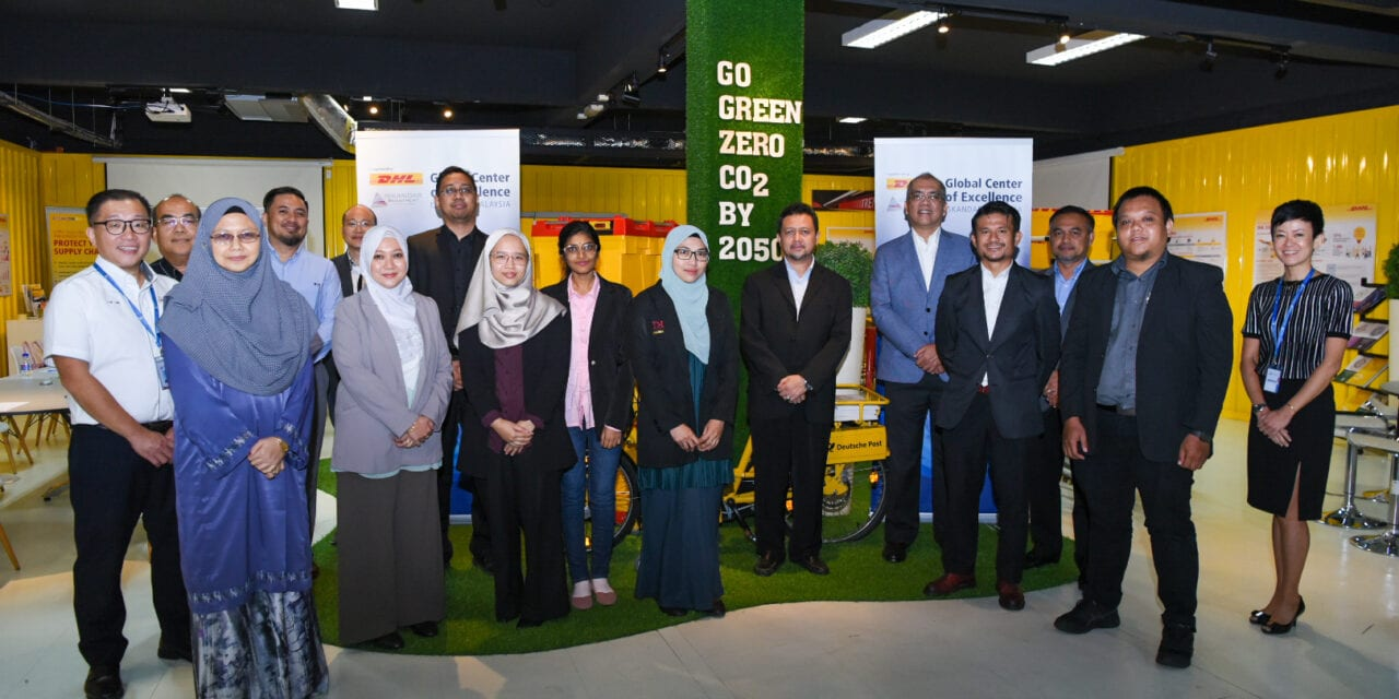 A Celebration of Collaboration between UTM School of Computing-DHL Asia Pacific Innovation Center