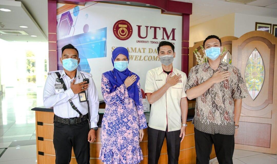 Penganjuran Majlis Bersama Jabatan UTM yang Aktif Bantu Hubungan Warga Kerja