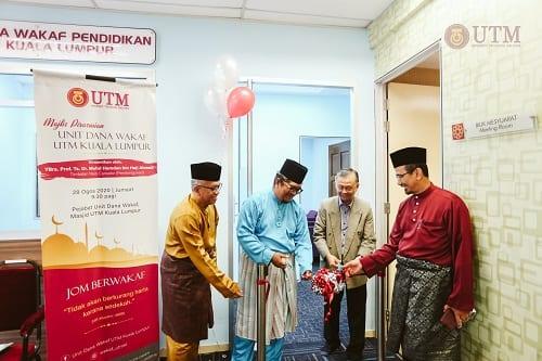 Majlis Perasmian Pejabat Unit Dana Wakaf UTM Kuala Lumpur
