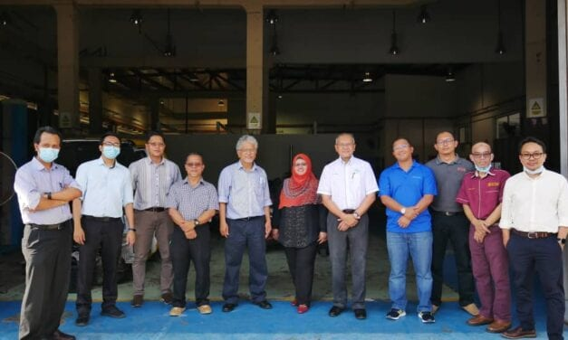 The CEO of Malaysian Green Technology and Climate Change Centre Visited Institute of Future Energy UTM