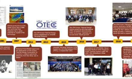 Establishment of UTM Ocean Thermal Energy Centre (UTM OTEC)