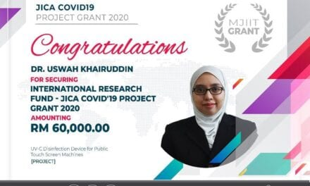 MJIIT Academicians received JICACOVID-19ProjectGrant2020International Research Fund