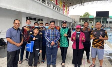 Mask On UTM: Confined Water Training with MSDeaf, PMWKL and Youths from B40 Group