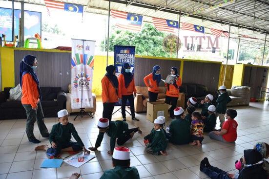"""Semarak Ilmu, Teduhan Kasih"" : Sinergi CSR Perpustakaan UTM KL Bersama Perpustakaan Negara Malaysia"