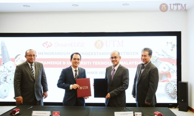 UTM and DreamEDGE Signed MoU as Satellite Office in Cyberjaya Launched