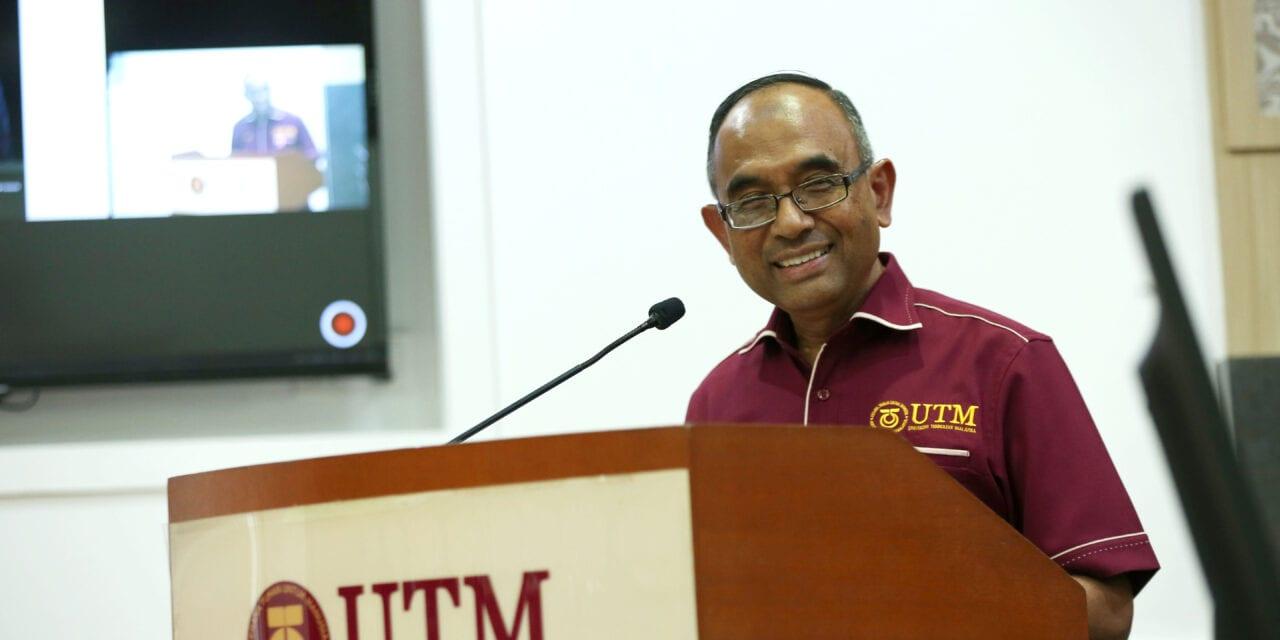 PKAUTM Merakam Ucapan Terima Kasih kepada Prof. Datuk Dr. Ir. Wahid Omar