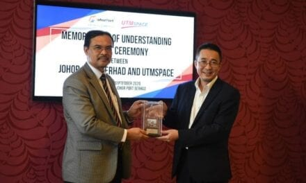 Johor Port Berhad Signs MoU with UTMSPACE to Offer Professional Education Certificate