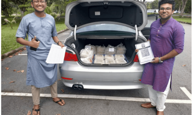 Food Distribution for Students during Eid al-Adha