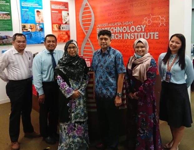 Collaborative research between the Faculty of Science (UTM) and Faculty of Food Science & Nutrition (UMS) on Borneo Green Honey and Isolated Bacteria from Turkey