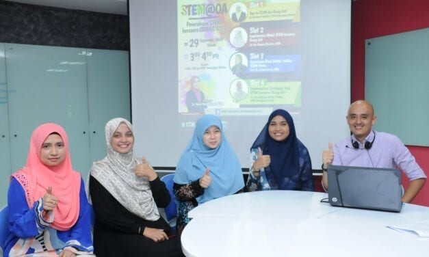 FSSH UTM Cooperates with IPGKTI in Preserving STEM Education among Indigenous People