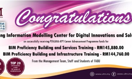 BIM Centre for Digital Innovations and Solutions Received PENJANA-KPT Career Advancement Programme Funds