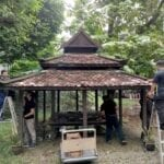 Preserving the Traditional Timber Wakaf at FABU Square