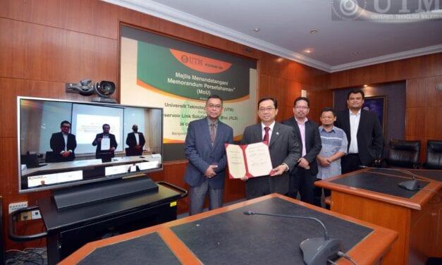 UTM-RLS Meterai MoU Tingkat Kerjasama Dalam Bidang Kejuruteraan Minyak & Gas