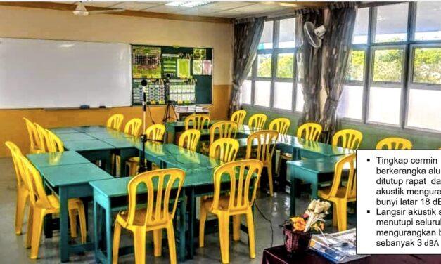 'Serene Classroom' Minimumkan Kebisingan untuk Pembelajaran Lebih Kondusif