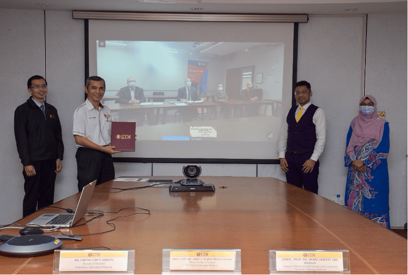 """Collaborations, engagements boost UTM reputation"" Faculty of Science UTM Holds Its Virtual MoU Signing Ceremony with University of York UK"