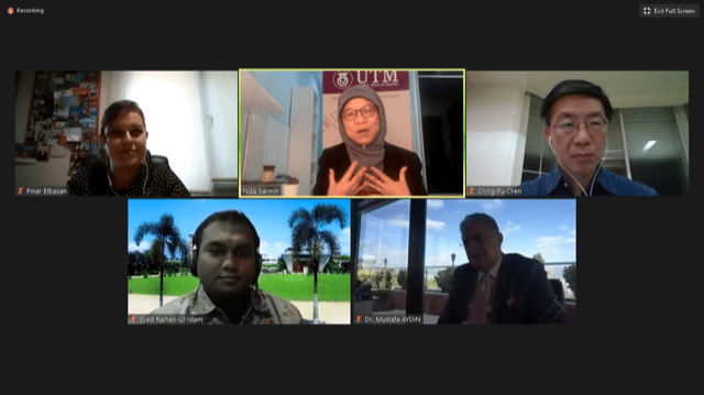 UTM Professor Became One of the Speakers in EURAS Regional Webinar on Higher Education in Asia