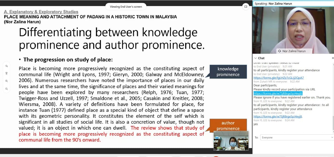 Online Global Classroom on Constructing Literature Review in PhD Study