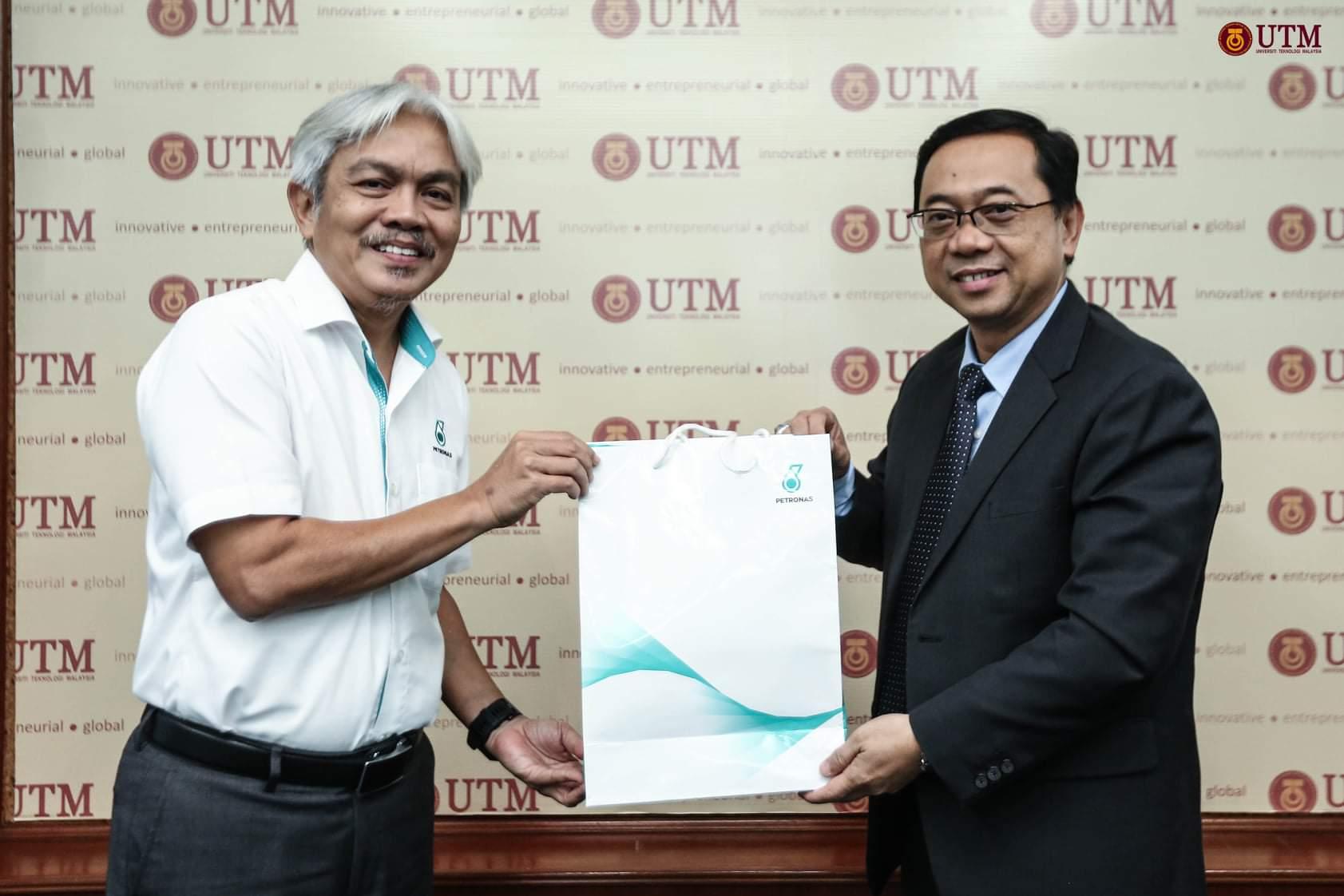 UTM-Petronas Southern Pererat Hubungan Kerjasama