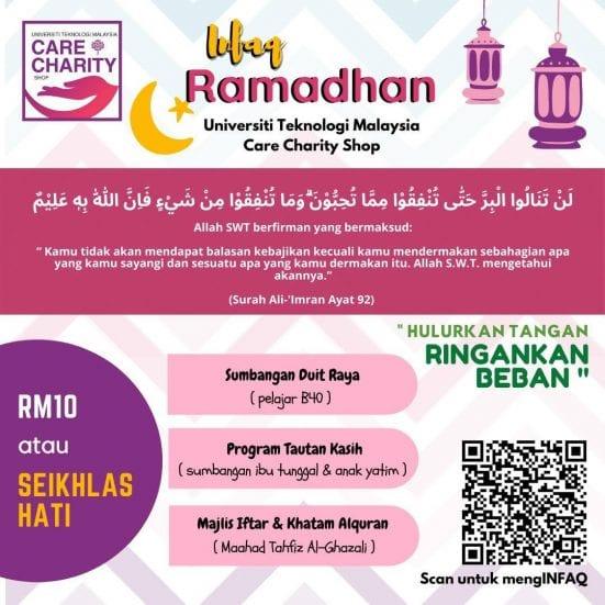 Program Infaq Ramadan – Tautan Kasih CCIN 2021/1442H