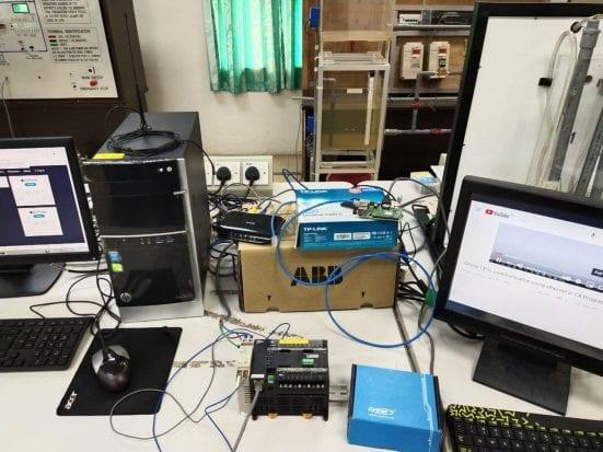 Laboratory-Scaled Liquid Level Process System