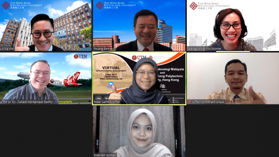 UTM International Explores Potential Collaboration with The Hong Kong Polytechnic University