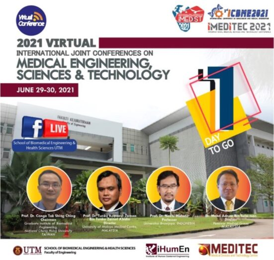 3rd International Conference on Biosciences and Medical Engineering 2021 Presents Scientific Findings by Worldwide Experts