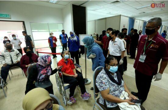 Menteri KPT Tinjau Hari Pertama Operasi PPV IPT Integrasi UTM