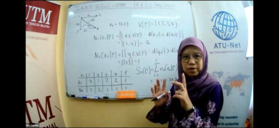 UTM Professor Gives Virtual Lecture at Indonesian Mathematical Society School 2021 Program