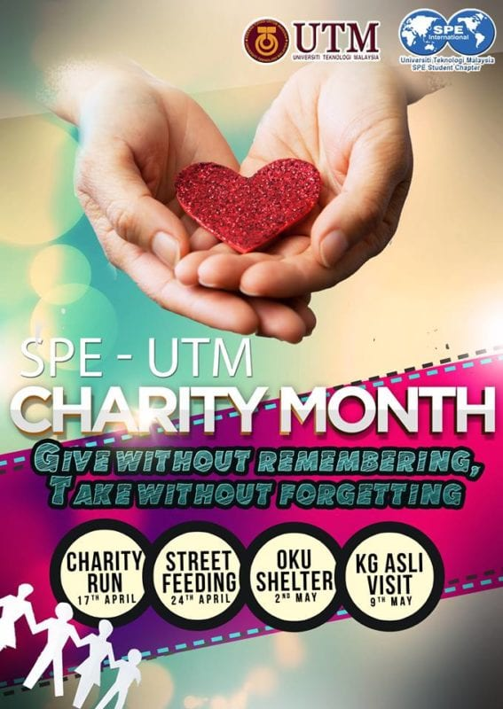 SPE UTM Charity Fluorescent Night Run