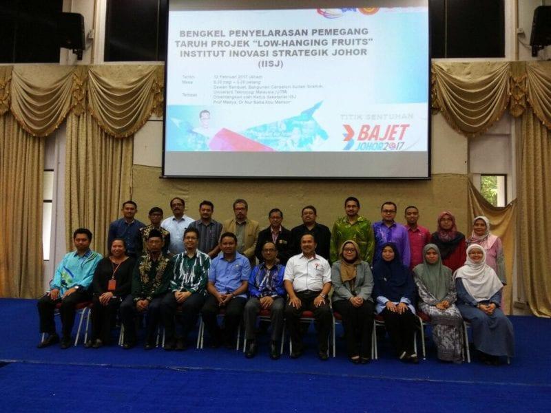 "Bengkel Penyelarasan Pemegang Taruh Projek ""Low-Hanging Fruits"" Institut Inovasi Strategik Johor (IISJ)"