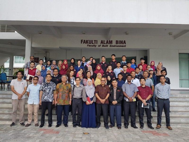 Lawatan Ketua Pengarah PLANMalaysia ke Jabatan Perancangan Bandar dan Wilayah (JPBW) FAB, UTM