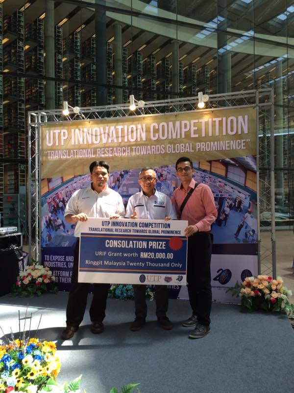 Dr Mohd Haizal grabs RM 20K grants from competition