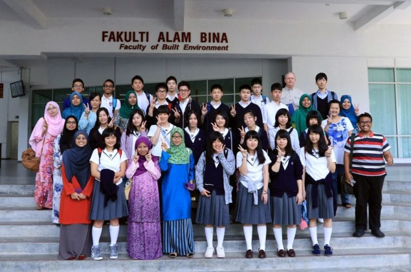 UTM Visited by Japan's Seifu Nankai High School under the Global Young Leaders Programme