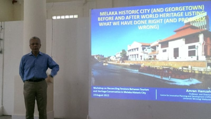 UTM-SEC Collaboration Makes Real Contributions to Reconciling Tensions between Tourism and Heritage Conservation in Melaka