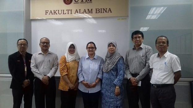 Visit from Universitas Sebelas Maret Surakarta (UNS), Indonesia to UTM Faculty of Built Environment